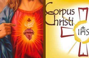 Corpo de Deus [Corpus Chris ti] e o Sagrado Coração de Jesus