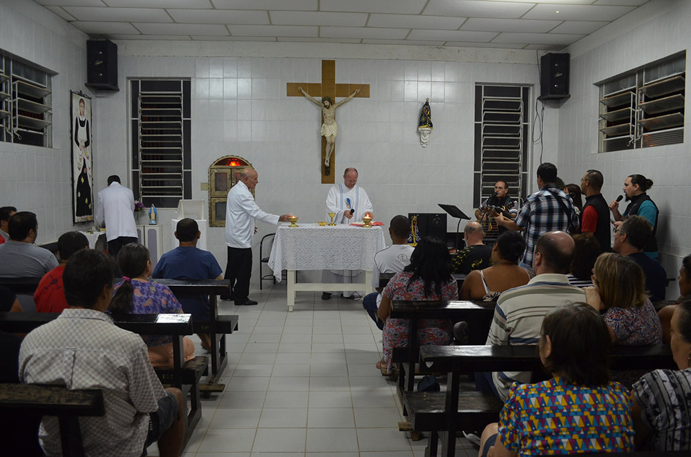 Capela de Santa Zita recebe imagem de Nossa Senhora da Conceição Aparecida