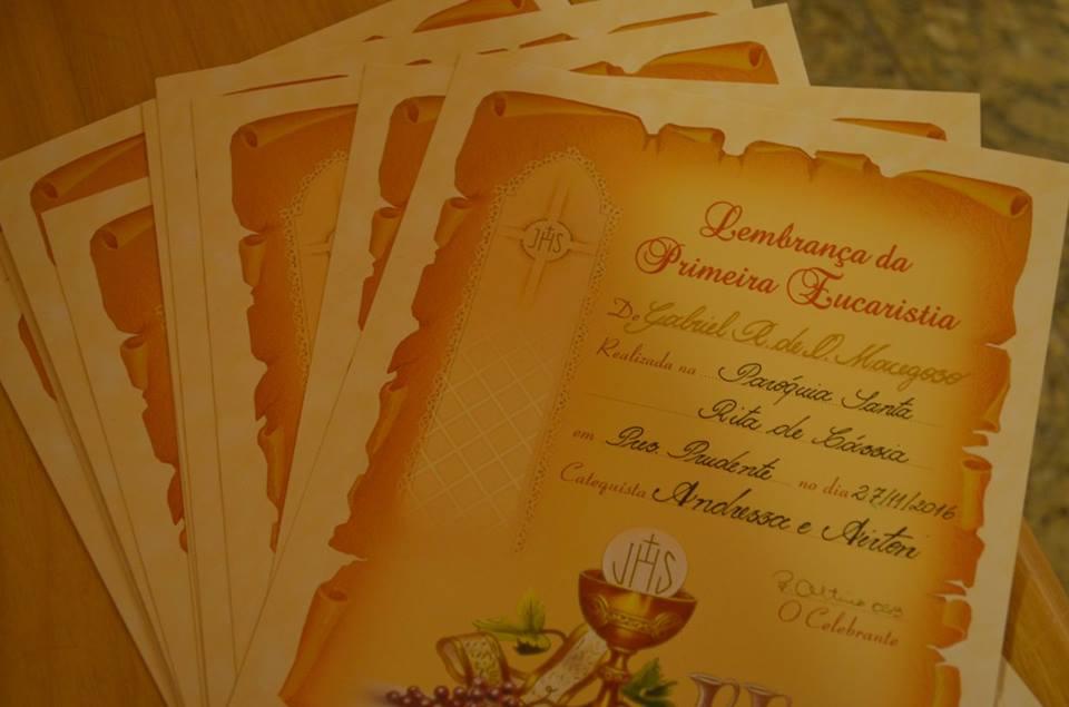 Catequese na Paróquia Santa Rita tem início neste mês de março