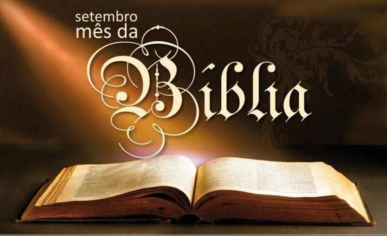 Setembro: Mês da Sagrada Escritura