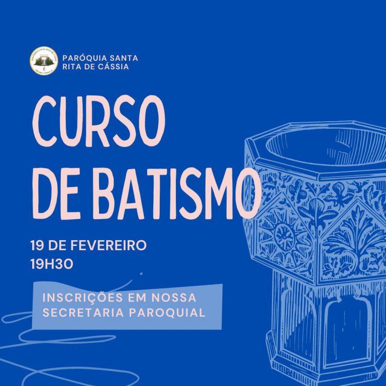 Read more about the article Curso de Batismo