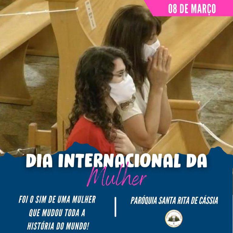 No dia internacional da Mulher