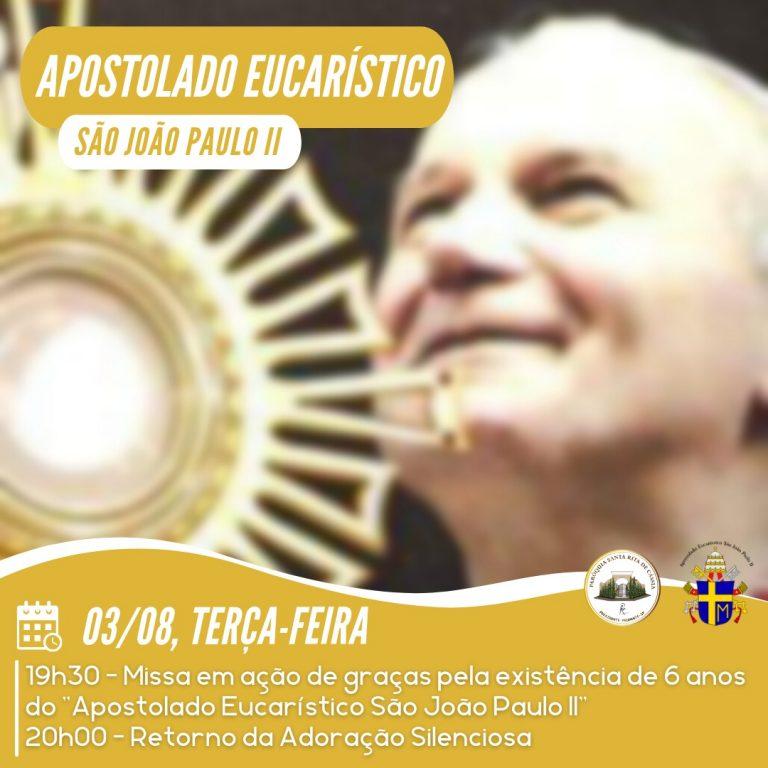 Read more about the article Apostolado Eucarístico