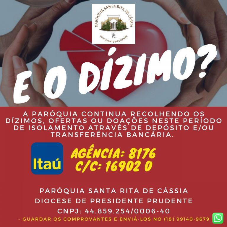 Read more about the article Dízimo e Doações