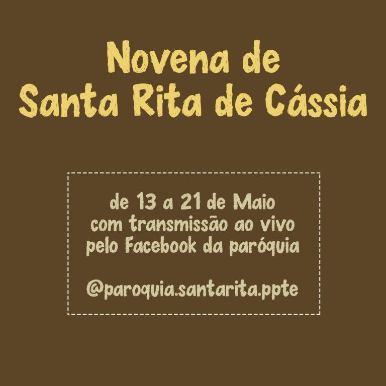 Read more about the article Novena de Santa Rita de Cássia