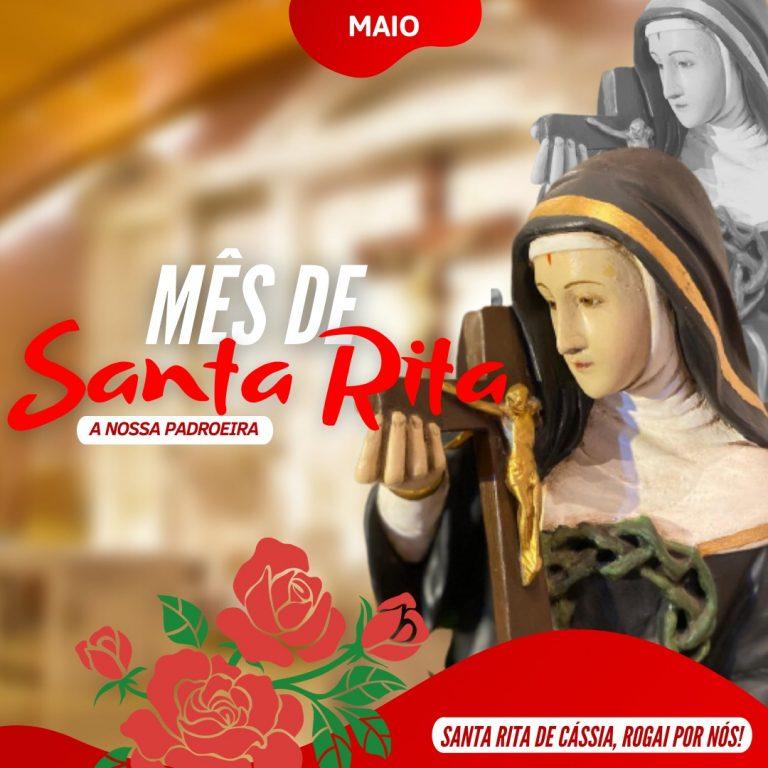 Read more about the article Mês de Santa Rita de Cássia