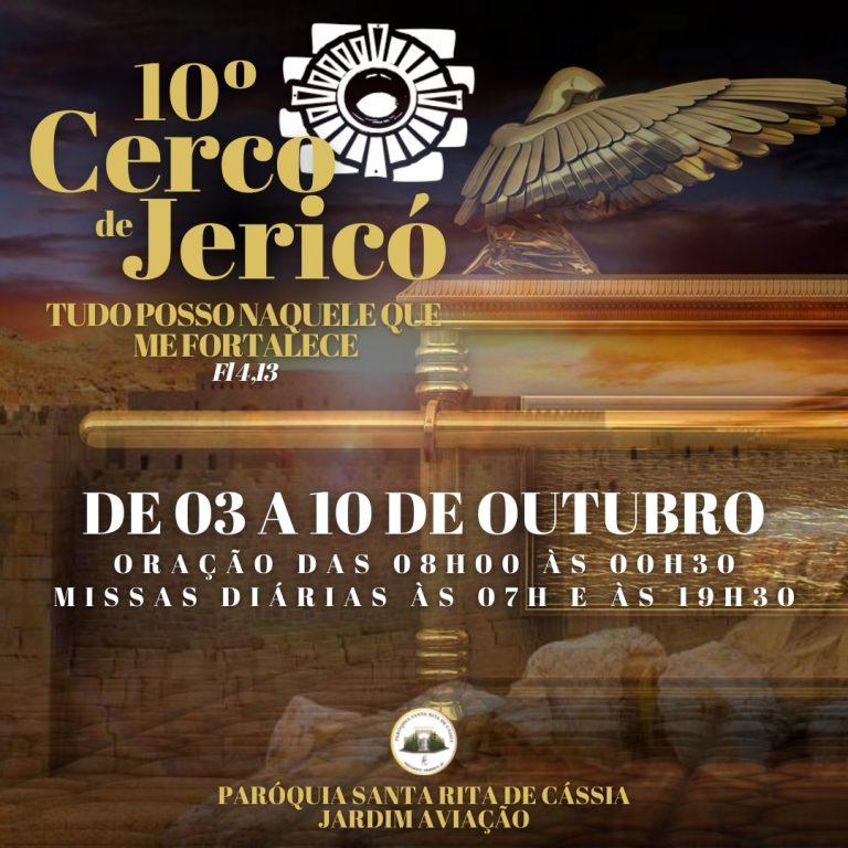 Read more about the article 10º Cerco de Jericó